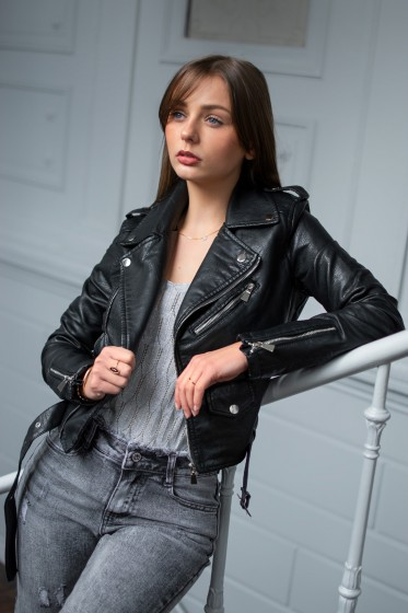 Veste Mikaela Tirette (noir)