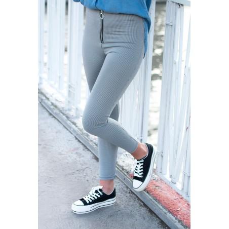 Pantalon Carreaux (noir)