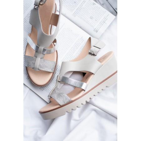 Sandale Nacre (Gris)