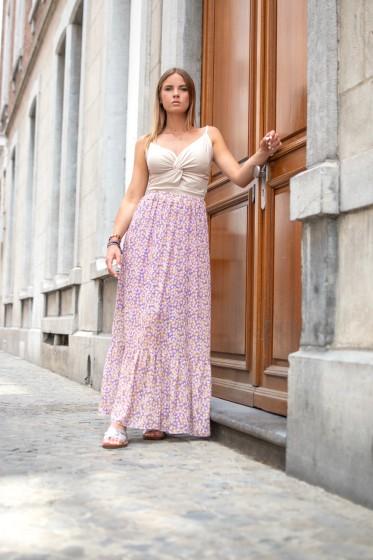 Juliette Flower Skirt (Lilac)