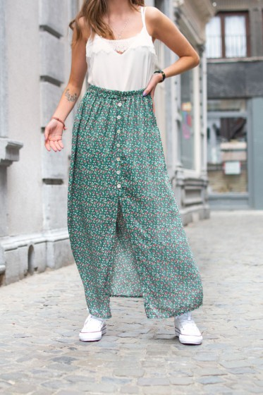 Liberty Max Skirt (Green)