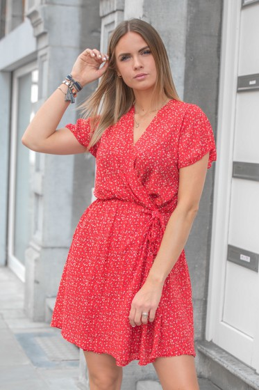 Robe Liberty Courte (Rouge)