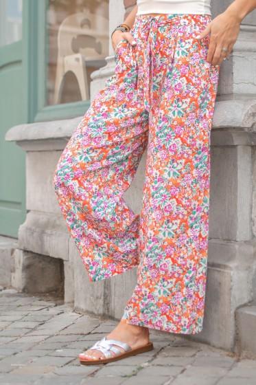 Pantalon Will Fleur (Orange)