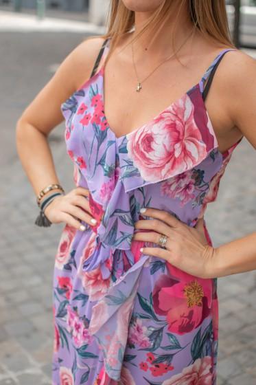 Robe Fleur Tyllia (Lilas)